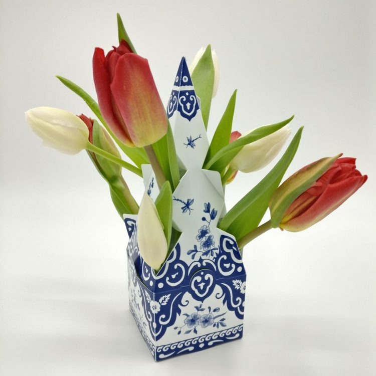 Tulpenvaas aangepast formaat